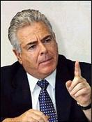 former defense minister