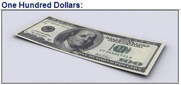 US $100