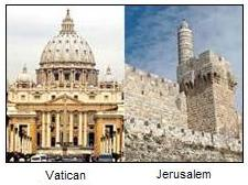 Vatican wants Jerusalem