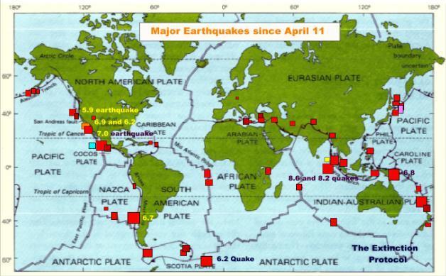 Earthquakes 2012