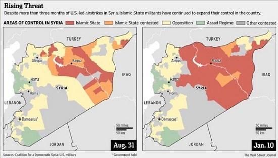 ISIS increase