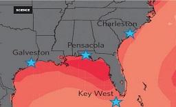 US east coast flooding