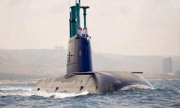 IDF submarine