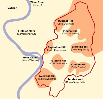 Rome's Seven Hills