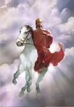 Second Coming on a White Horse