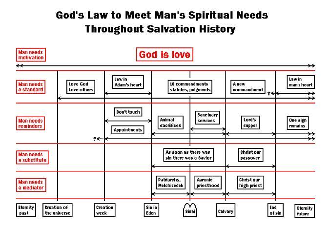 God's law to meet man's needs