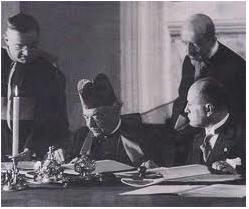 Lateran Treaty Signing