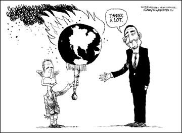 Bush to Obama