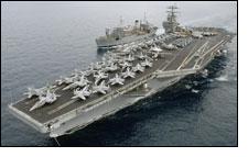 Israeli warships