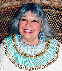 High priestess Loreon Vigne of Isis Oasis