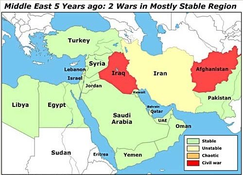 Middle East 5 years ago