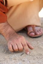 Jesus Writing on the Ground